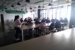 同济科技园开展大学生创新创业孵化观摩交流活动